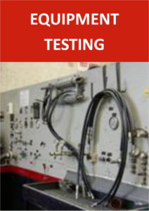 Hydraulic Services - Equipment Testing