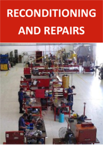 Hydraulic Services - Reconditioning and Repairs