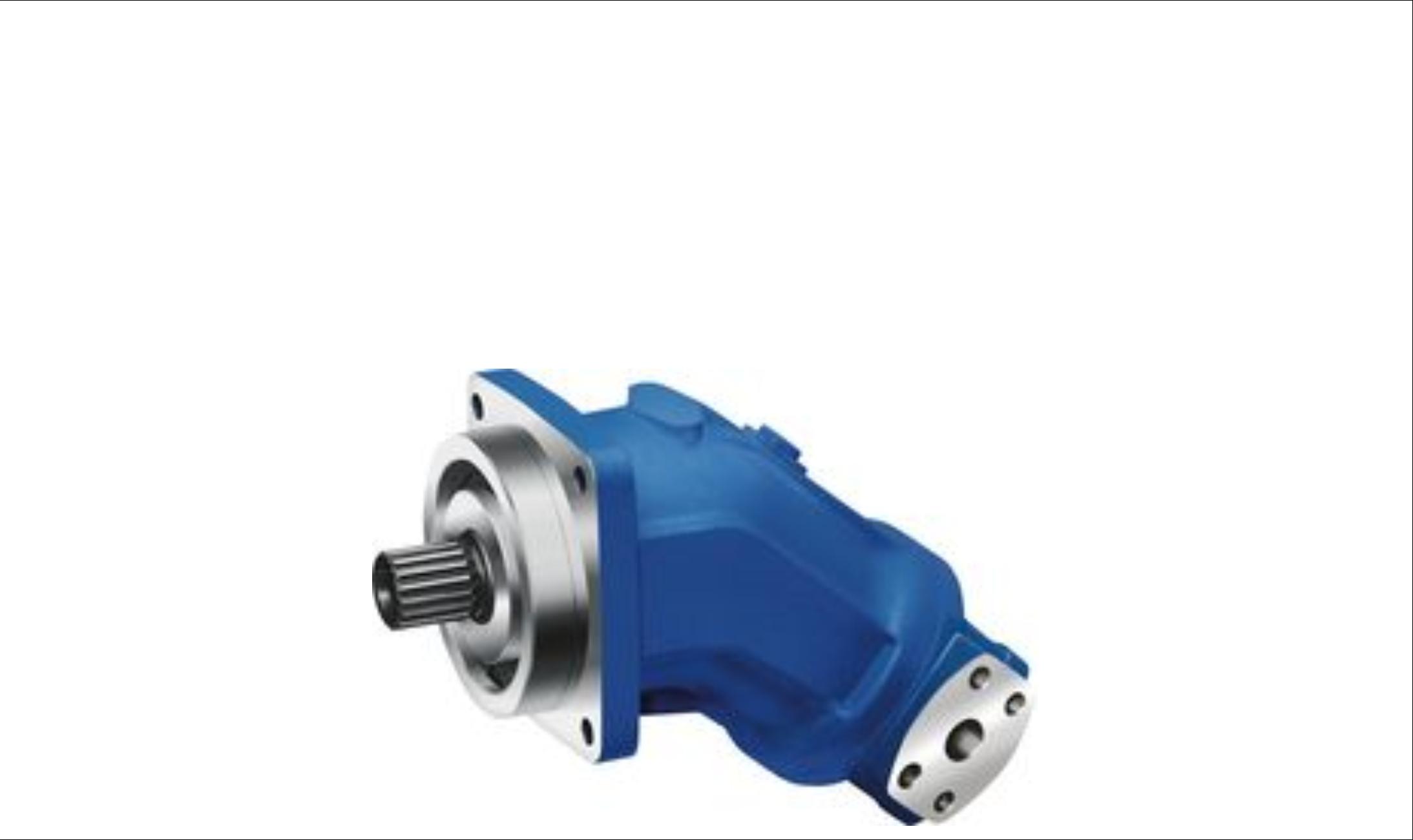 Hydraulic Piston Pump : Rexroth hydraulic piston pumps product catalogue perth