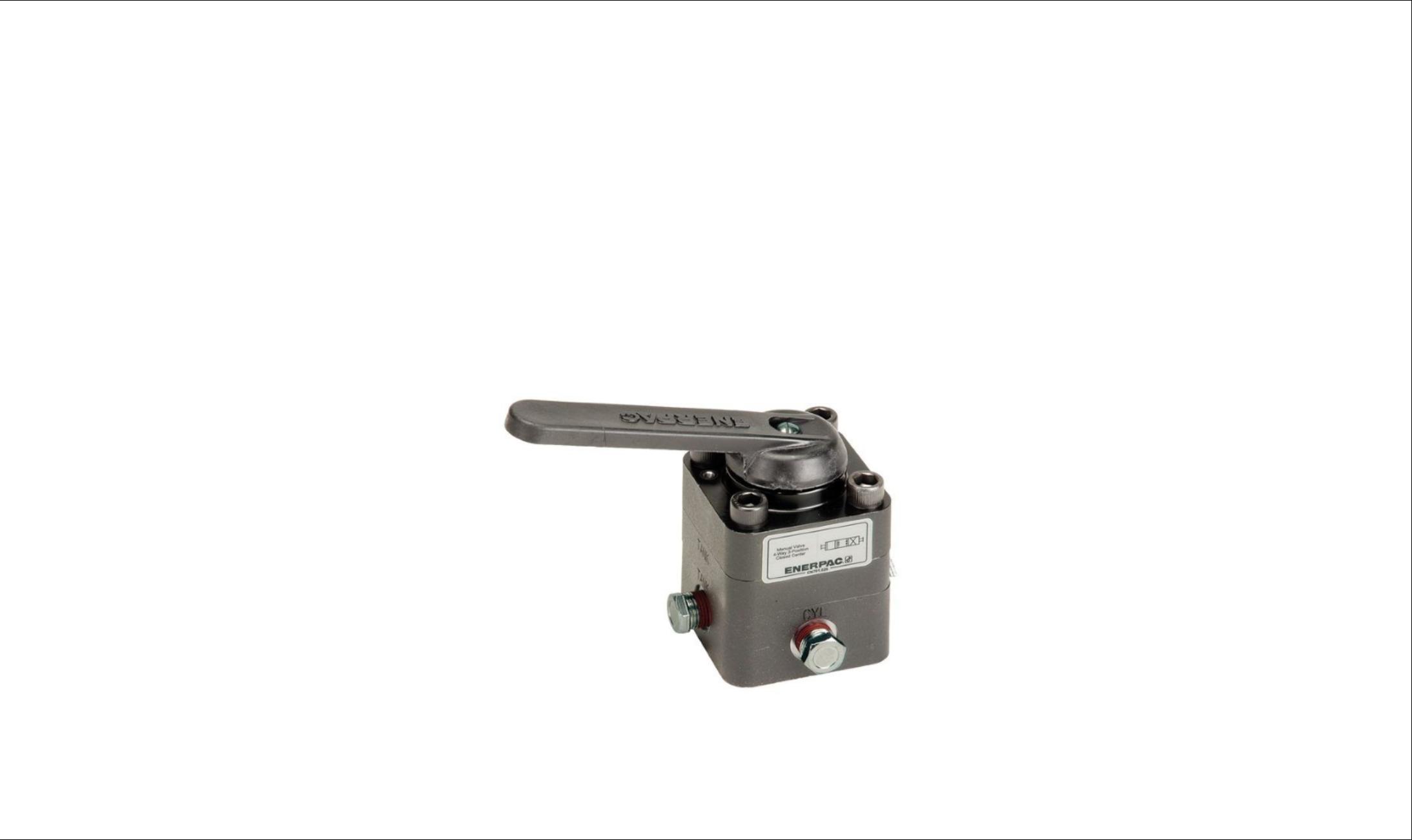 Enerpac directional control valves supplies perth wa for Staffa hydraulic motor repair manual